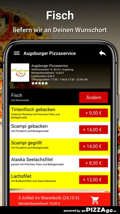 Augsburger Pizzaservice Augsb screenshot 6