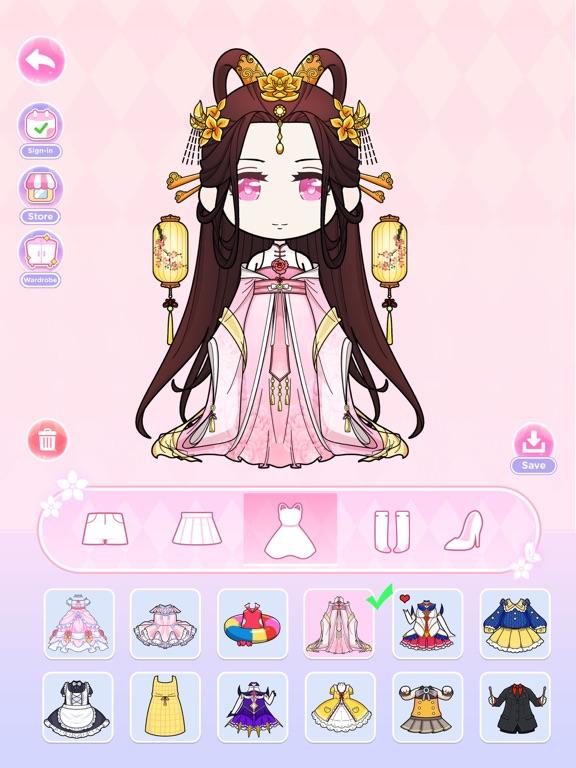Anna Doll - Dress Up Game screenshot 8