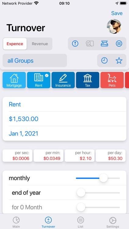 Live Budget - Money Manager screenshot-5