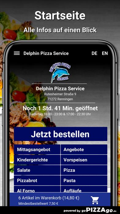 Delphin Pizza Renningen screenshot 2