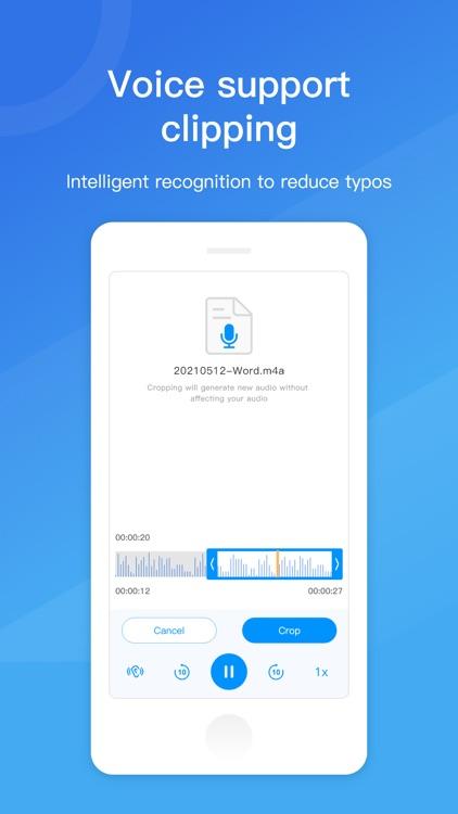 Voice to Text, voice memo screenshot-3