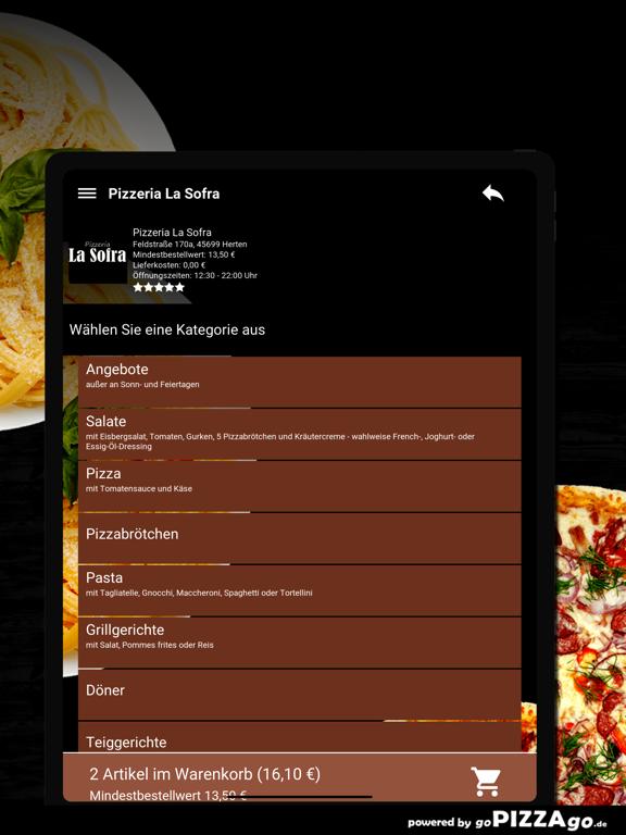 Pizza-Florenz Kassel screenshot 8