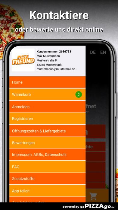 Pizza-Freund Hannover screenshot 3