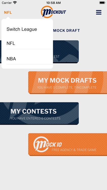 MockOut - NFL mock draft game screenshot-3