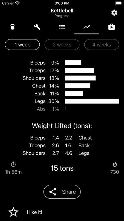 Kettlebell Home Workout screenshot-4