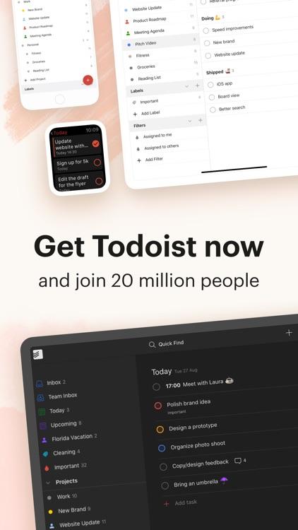 Todoist: To-Do List & Tasks screenshot-7