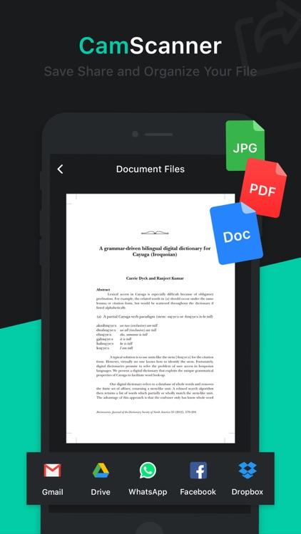 Cam Scanner - Scan to PDF screenshot-6