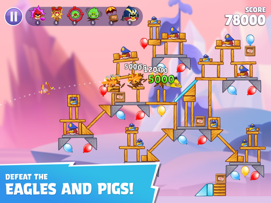 Angry Birds Reloaded screenshot 10