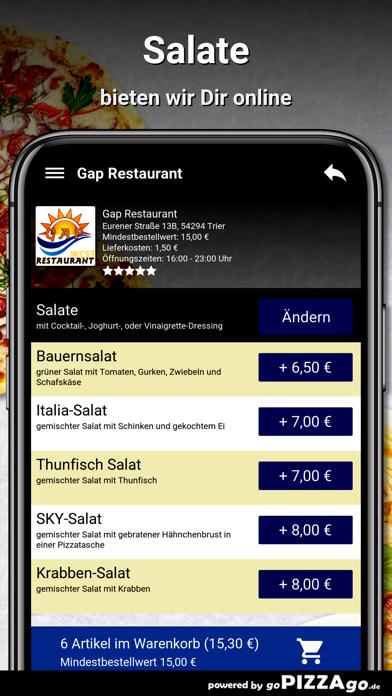 Gap Restaurant Trier screenshot 5