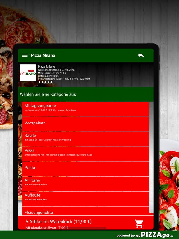 Pizza Milano Jena screenshot 8