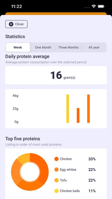 Protein Bar - Protein tracker screenshot 6