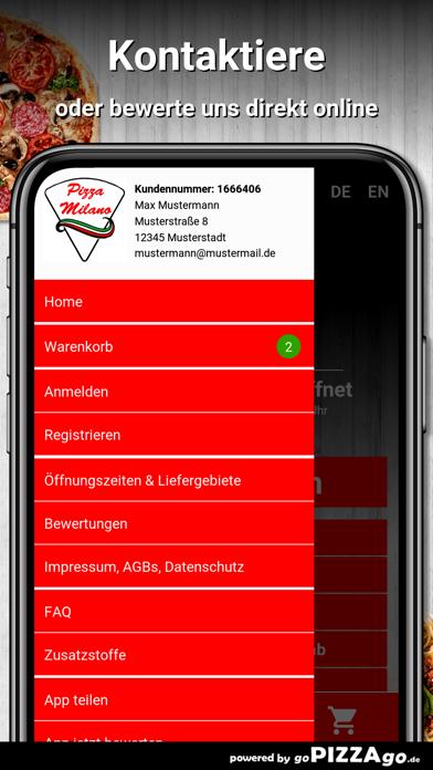 Pizza Milano Paderborn screenshot 3