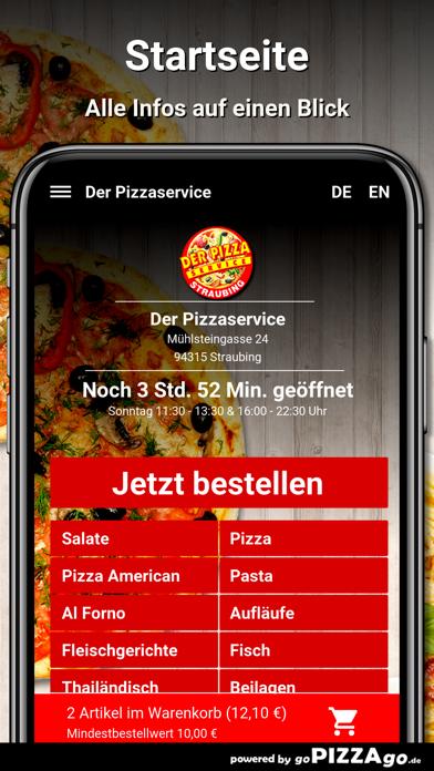 Der Pizzaservice Straubing screenshot 2