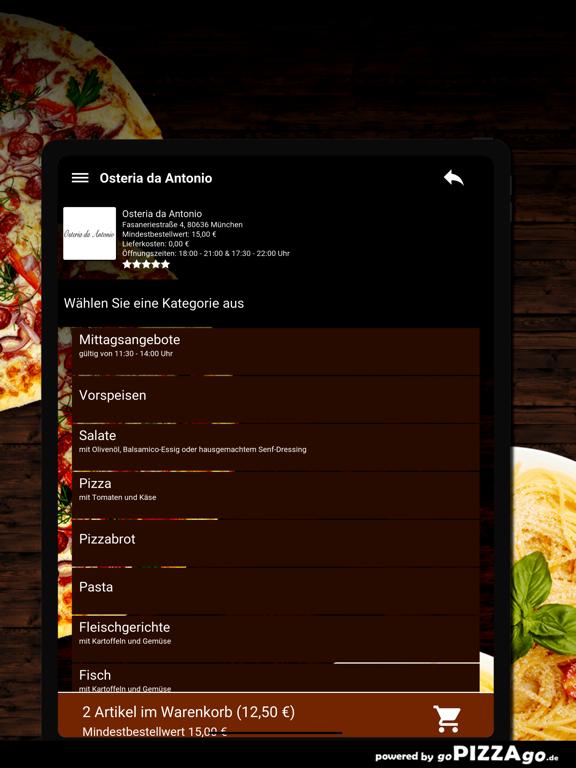 Osteria da Antonio München screenshot 8