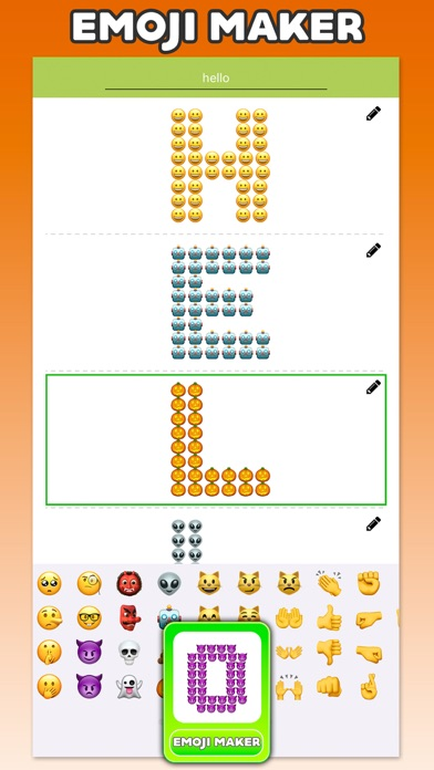 Emoji New Keyboard screenshot 3