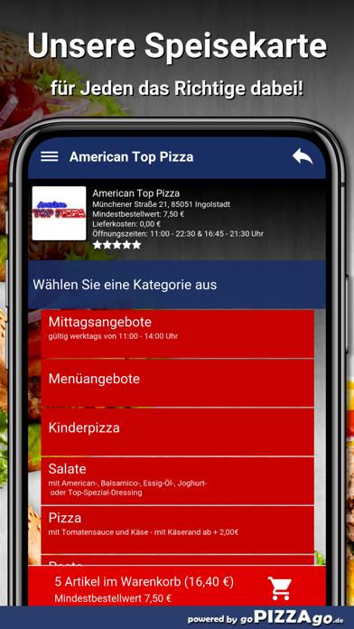 American Top Pizza Ingolstadt screenshot 4
