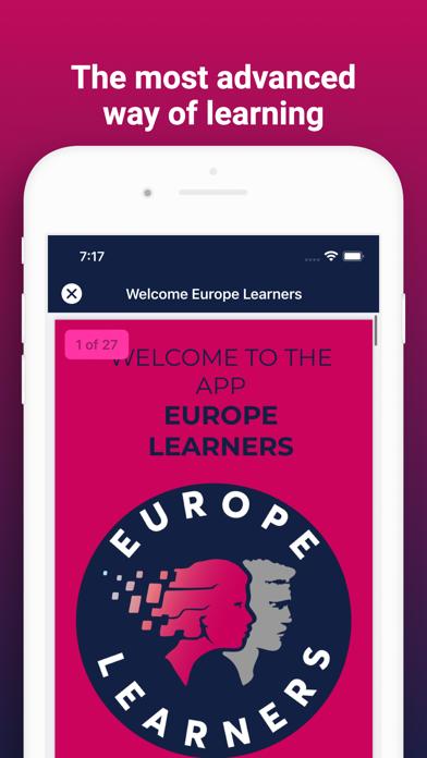 Europe Learners screenshot 3
