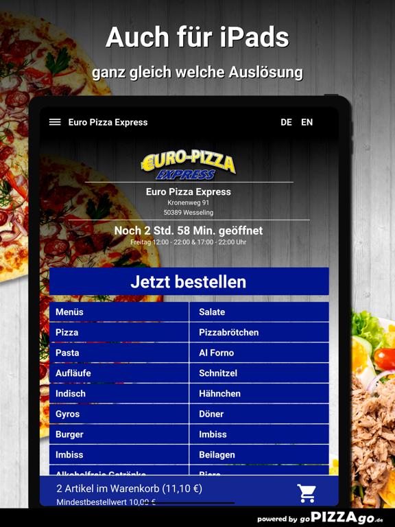 Euro Pizza Express Wesseling screenshot 7