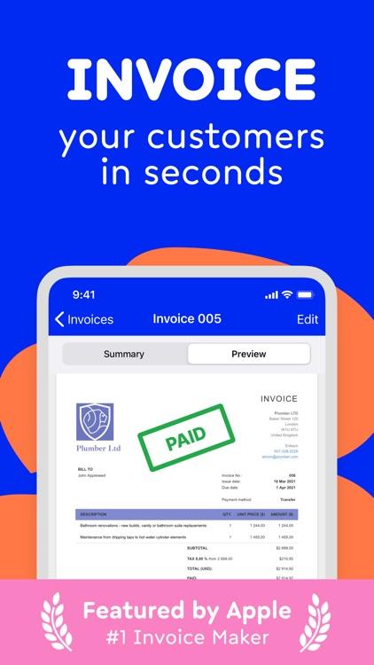 Invoice, Estimate Maker Billdu