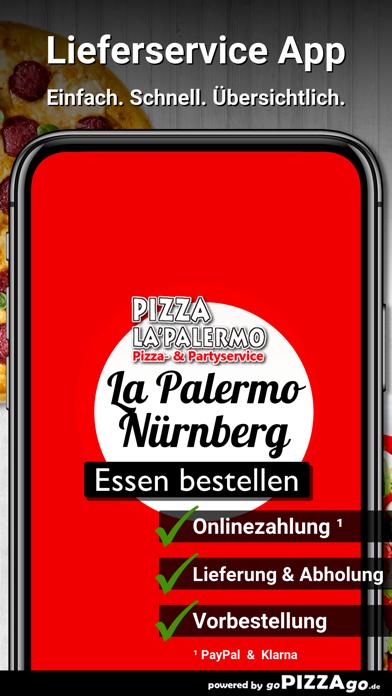 Pizza La Palermo Nürnberg screenshot 1