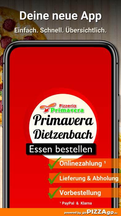 Pizzeria Primavera Dietzenbach screenshot 1