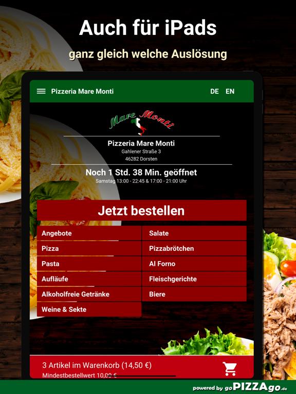 Pizzeria Mare Monti Dorsten screenshot 7