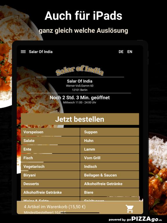 Salar Of India Berlin screenshot 7