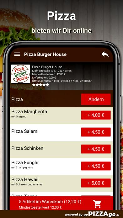 Pizza Burger House Berlin screenshot 5