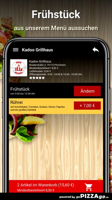 Kadoo Grillhaus Pforzheim screenshot 5