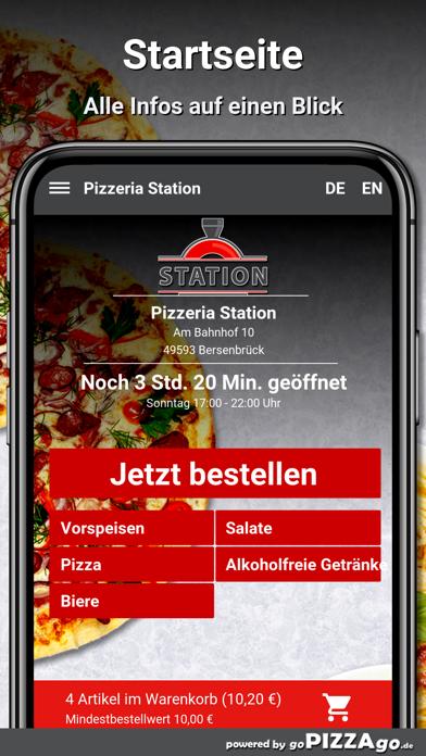 Pizzeria Station Bersenbrück screenshot 2