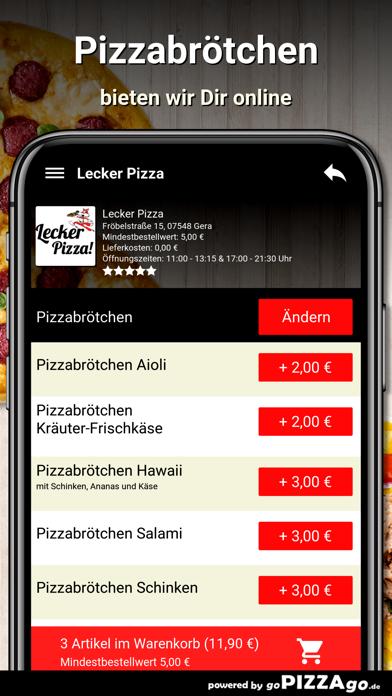 Lecker Pizza Gera screenshot 5