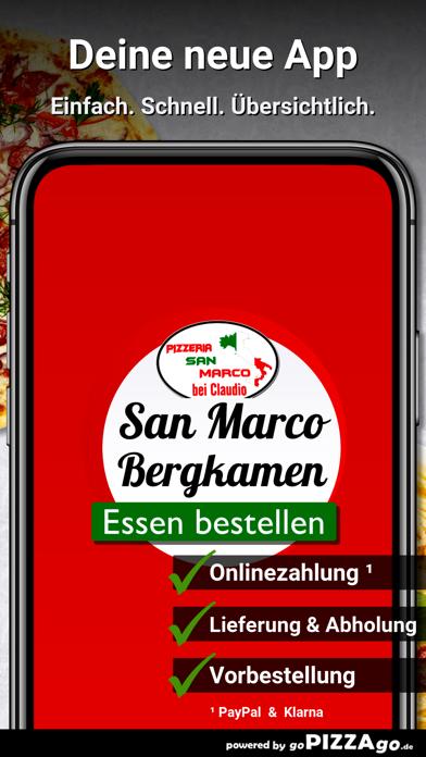 Pizzeria San Marco Bergkamen screenshot 1