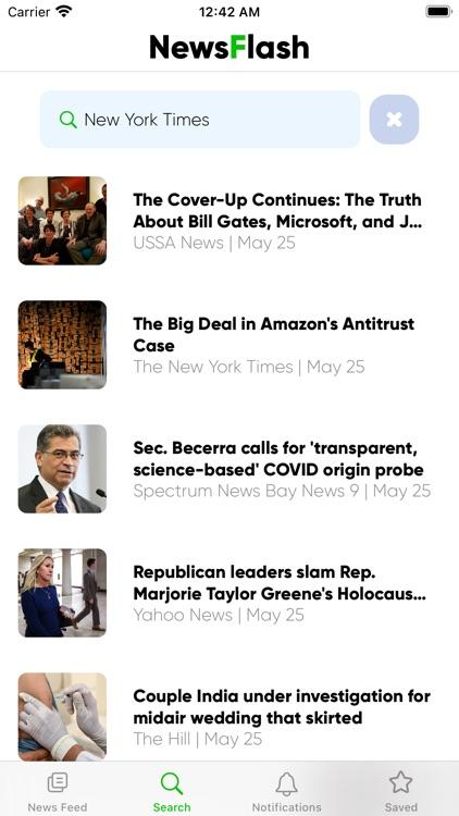 Newsflash Speed Reader screenshot-6