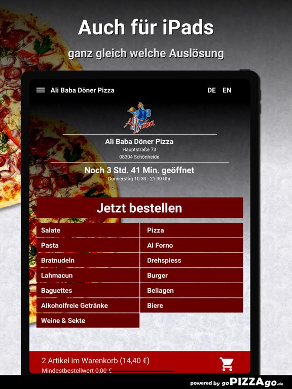 Ali Baba Döner Pizza Schönheid screenshot 7