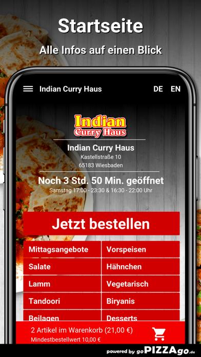Indian Curry Haus Wiesbaden screenshot 2