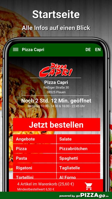 Pizza Capri Plauen screenshot 2