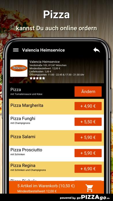 Valencia Heimservice München screenshot 5