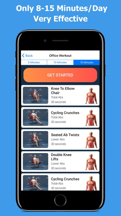 Lose Belly Fat - Abs Workoutのおすすめ画像4