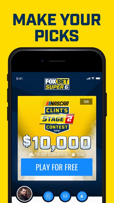 messages.download FOX Bet Super 6 software