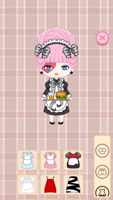 Cafegal - Dress up mini cafe screenshot 1