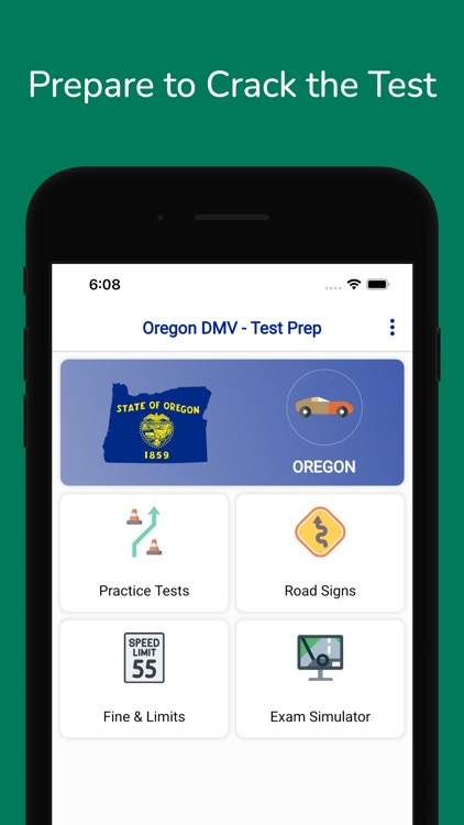 Oregon DMV Permit Practice screenshot-3