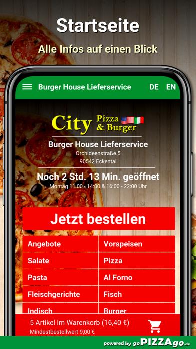 Burger House Eckental screenshot 2