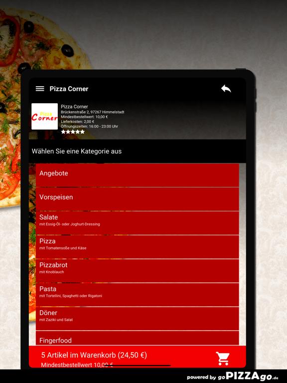 Pizza Corner Himmelstadt screenshot 8