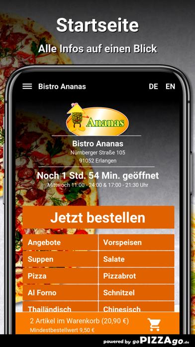 Bistro Ananas Erlangen screenshot 2