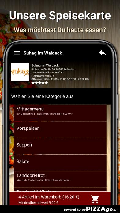 Suhag im Waldeck München screenshot 4