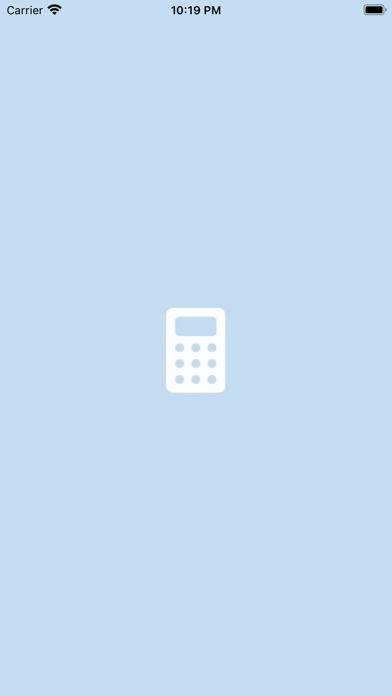 My BlueCalculatorلقطة شاشة5