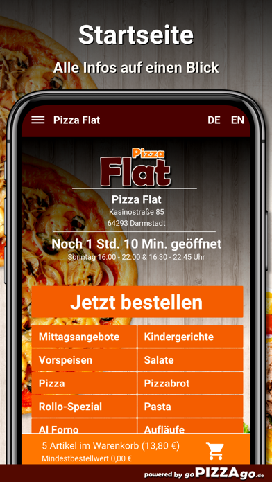 Pizza Flat Darmstadt screenshot 4