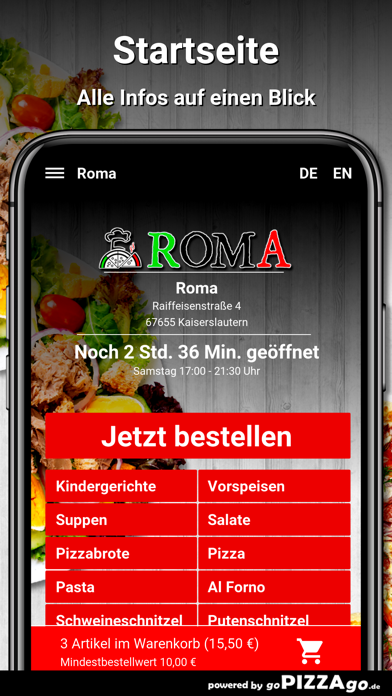 Roma Kaiserslautern screenshot 2