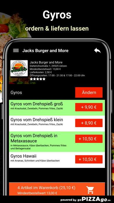 Jacks Burger and More Uelzen screenshot 6