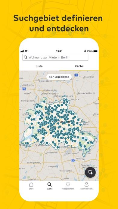 immowelt - ImmobiliensucheScreenshot von 3